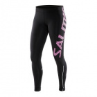 Running Tights Women, black/pink glo, Salming Sports