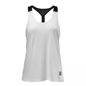Sjekke Loose Fit Tank, white, Better Bodies hos SportGymButikken.no