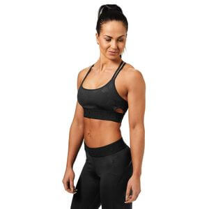 Sjekke Astoria Sports Bra, black camo, Better Bodies hos SportGymButikken.no