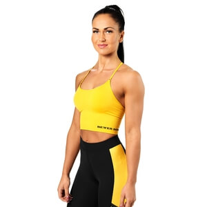 Sjekke Astoria Seamless Bra, yellow, Better Bodies hos SportGymButikken.no