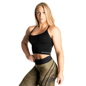 Sjekke Astoria Seamless Bra, black, Better Bodies hos SportGymButikken.no