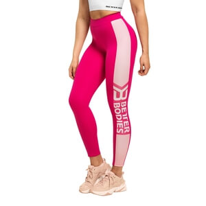 Chrystie High Tights, hot pink, Better Bodies i gruppen Klær / Dame / Bukser / Treningstights hos Sportgymbutikken.no (BB-110932-462r)