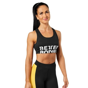 Sjekke Bowery Sports Bra, black, Better Bodies hos SportGymButikken.no