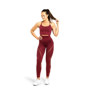 Sjekke Waverly Tights, sangria red, Better Bodies hos SportGymButikken.no