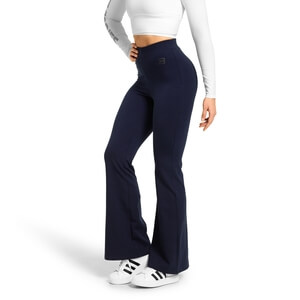 Sjekke Chrystie Flare Pants, dark navy, Better Bodies hos SportGymButikken.no