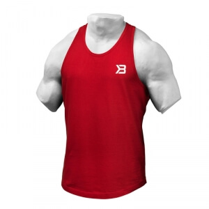 Sjekke Essential T-back, bright red, Better Bodies hos SportGymButikken.no