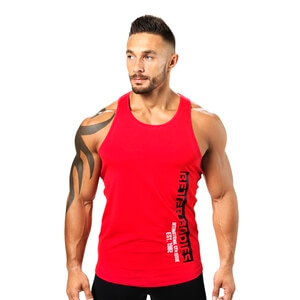 Sjekke Performance T-back, bright red, Better Bodies hos SportGymButikken.no
