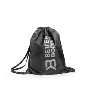 Sjekke Stringbag BB, black/grey, Better Bodies hos SportGymButikken.no
