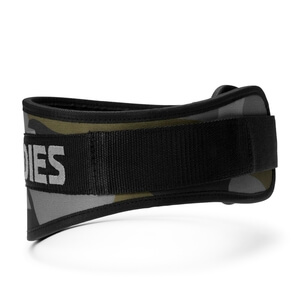 Sjekke Camo Gym Belt, dark green camo, Better Bodies hos SportGymButikken.no