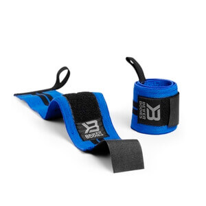 Sjekke BB Wrist Wrap 18 inch, strong blue, Better Bodies hos SportGymButikken.no