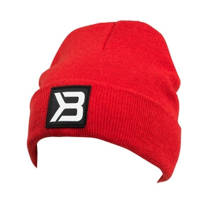 Sjekke Tribeca Beanie, bright red, Better Bodies hos SportGymButikken.no