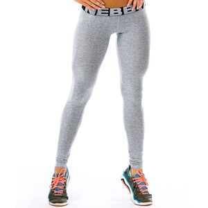 Sjekke Scrunch Butt Tights, light grey, Nebbia hos SportGymButikken.no