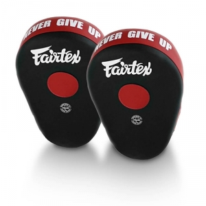 Sjekke Focus Mitts FMV13 Maximized, red/black, Fairtex hos SportGymButikken.no