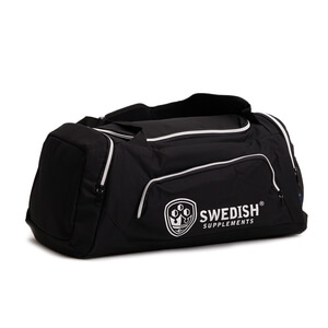 Sjekke Duffle Bag XL, black, Swedish Supplements hos SportGymButikken.no