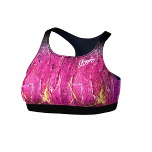 Sjekke Demonia Sports Bra, pink/black, Anarchy hos SportGymButikken.no