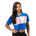 Trinity Tee, strong blue, Better Bodies