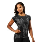 Performance Cut Tee, black/grey, Better Bodies