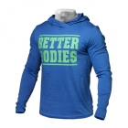 Mens Soft Hoodie, brigt blue, Better Bodies