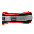 Basic Gym Belt, black/red, Better Bodies