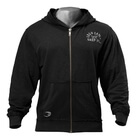 Throwback Zip Hoodie, wash black, GASP