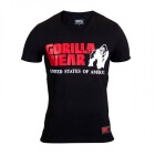 Utah V-Neck Tee, black, Gorilla Wear