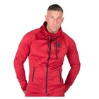 Bridgeport Zipped Hoodie, red, Gorilla Wear