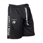 Functional Mesh Shorts, svart/hvit, Gorilla Wear