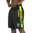 Shelby Shorts, black/neon lime, Gorilla Wear