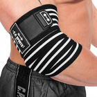 Elbow Wraps Pro, black/white, C.P. Sports
