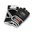 MMA-hanske Bullet, sort/hvit, Fighter