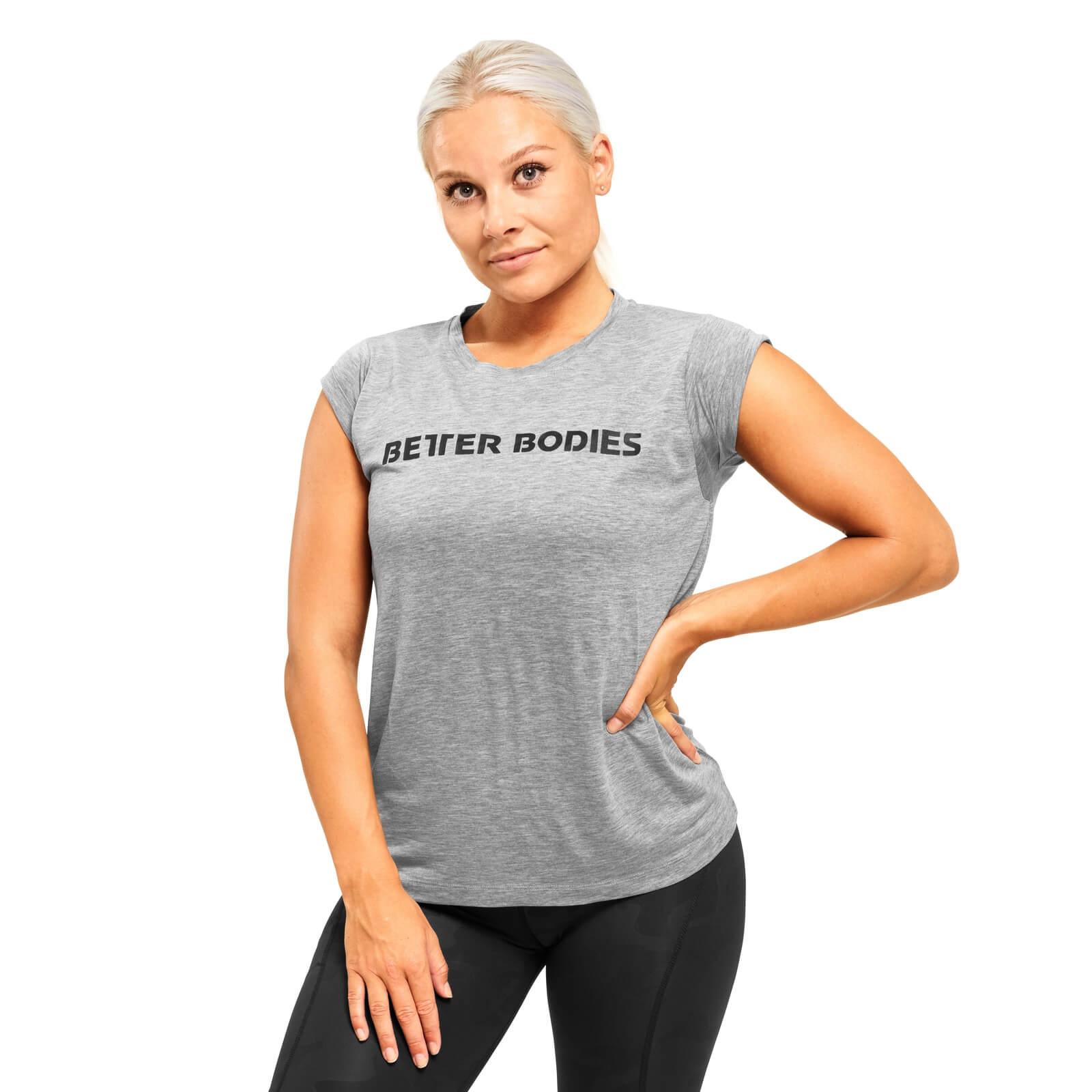 Kjøp Astoria Tee, grey melange, Better Bodies online hos
