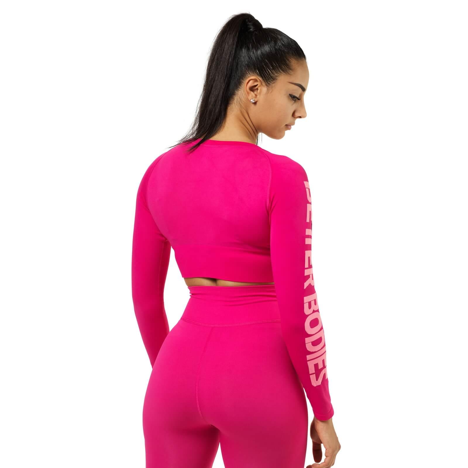 158c7465 Kjøp Bowery Cropped Ls, hot pink, Better Bodies online hos ...