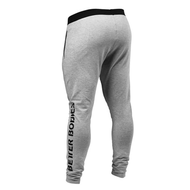 Kjøp Hudson Jersey Pants, grey melange, Better Bodies online