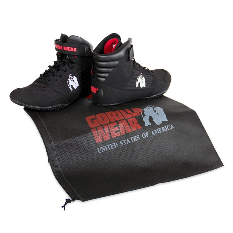 Kjøp GW High Tops Shoe, black, Gorilla Wear hos