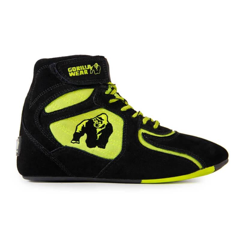 Kjøp Chicago High Tops LTD, blackneon lime, Gorilla Wear
