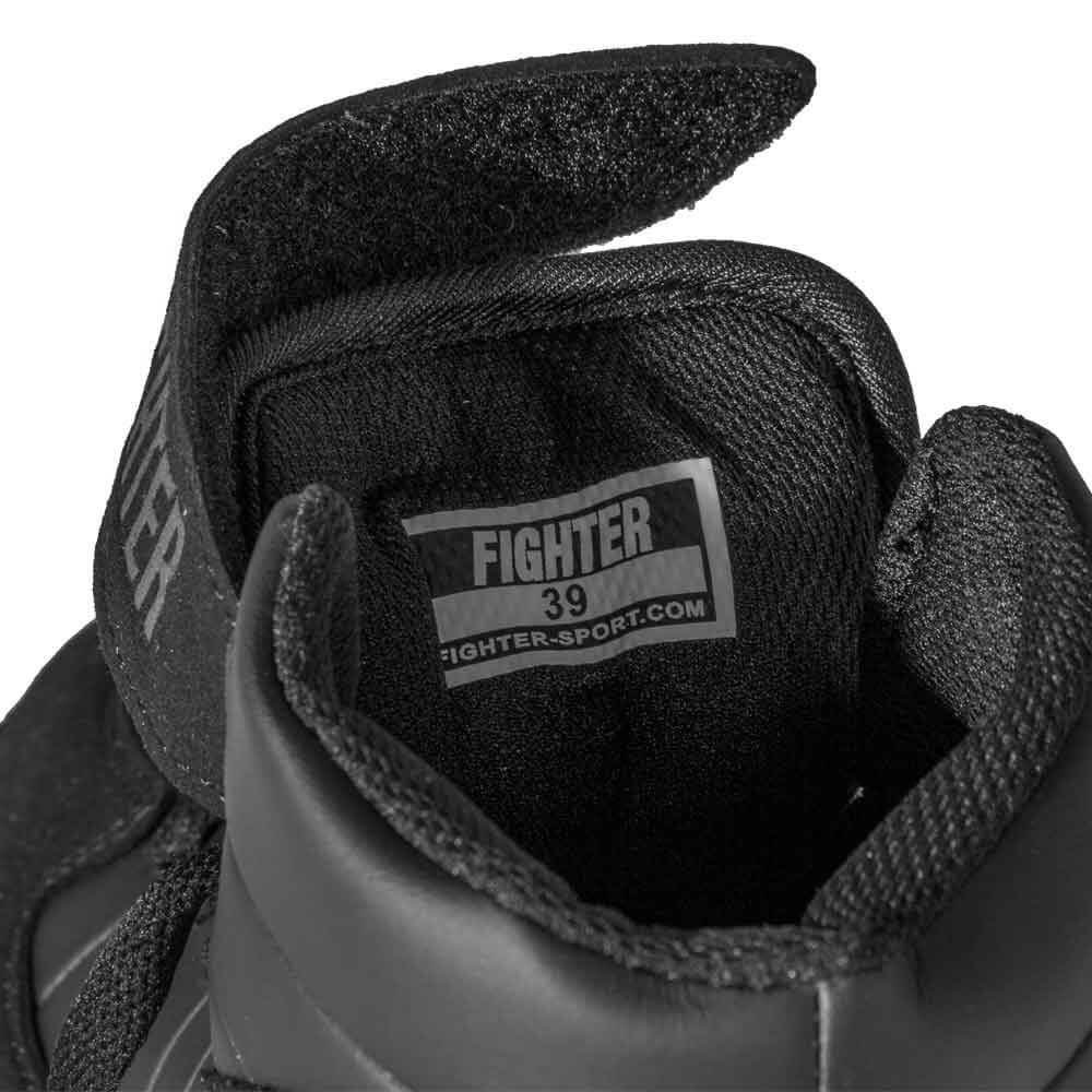 Fighter Boksesko Black Mamba, sort, 41